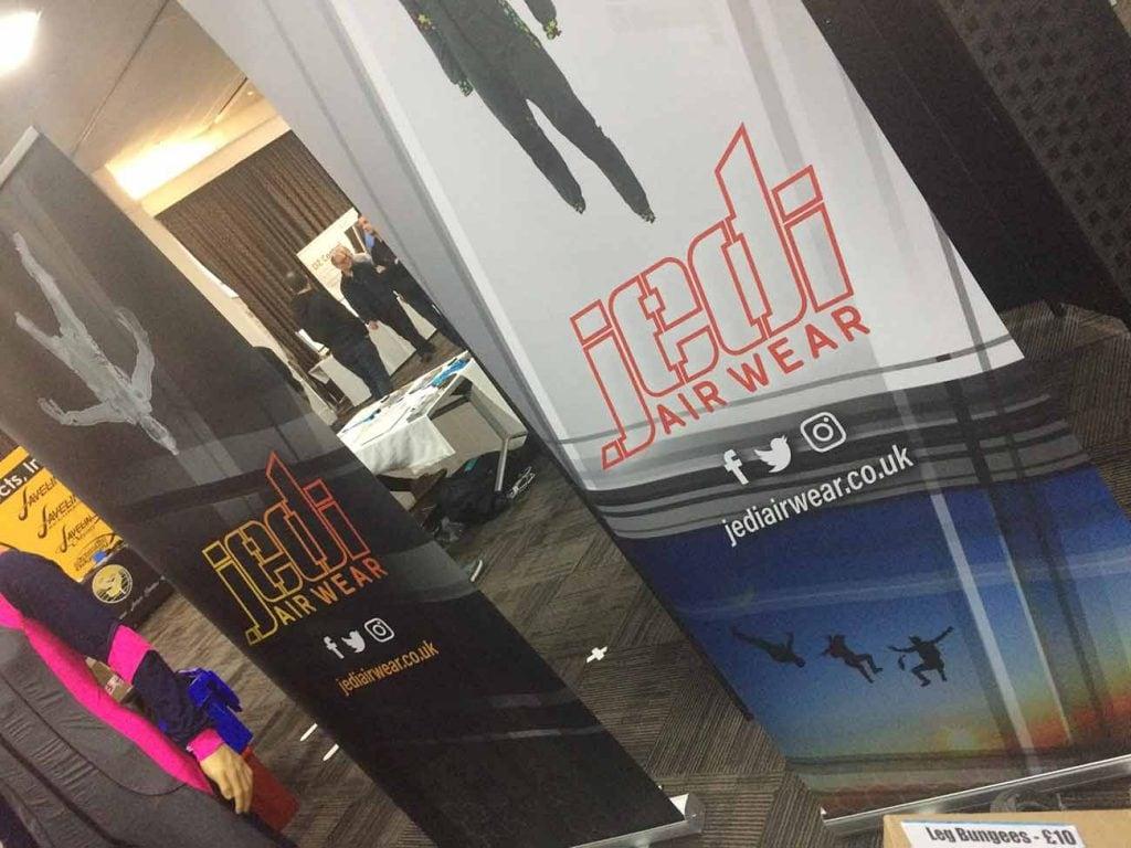 Graphic design trade show Jedi